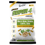 LesserEvil Super 4 Kale & Roasted Garlic, 5 Oz (Pack of 12)