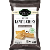 SAFFRON ROAD CRACKED PEPPER BAKED LENTIL CHIPS, 4 OZ (PACK OF 12)