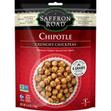 Saffron Road Chipotle Medium Crunchy Chickpeas, 6 Oz (Pack of 8)