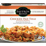 SAFFRON ROAD CHICKEN PAD THAI WITH RICE NOODLES, 10 OZ (PACK OF 8)