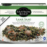 Saffron Road Lamb Saag with Basmati Rice, 11 Oz (Pack of 8)