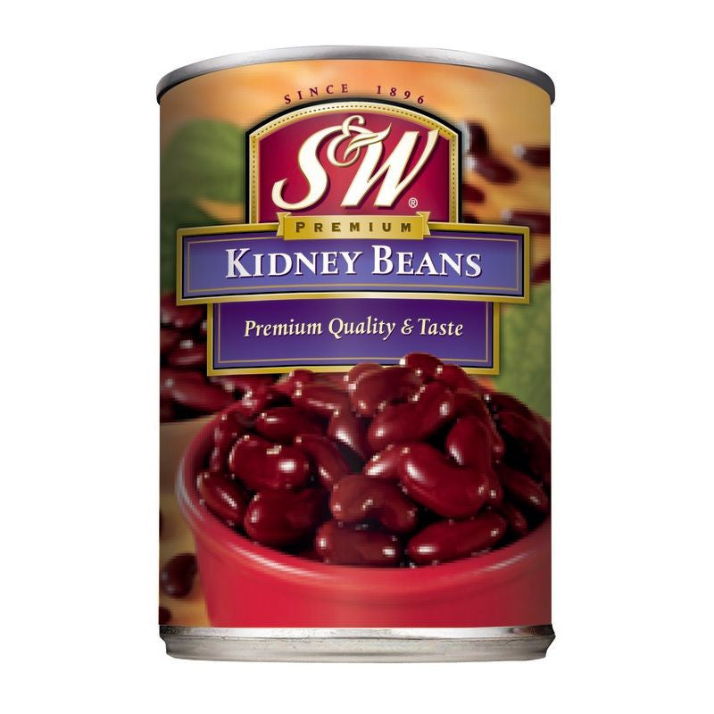 S&W  Kidney Beans 15.25 Oz  (Pack of 12)