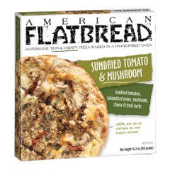 American Flatbread Sundried Tomato & Mushroom, 16 Oz  (Pack of 6)
