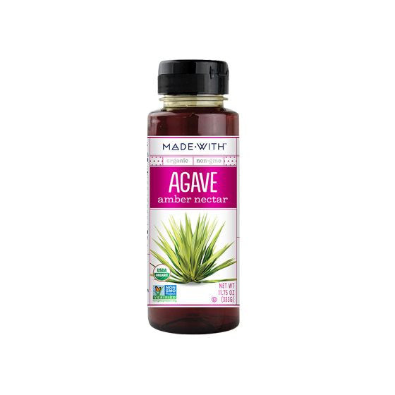 Made With Organic Amber Agave Nectar, 11.75 Oz (Pack of 6)