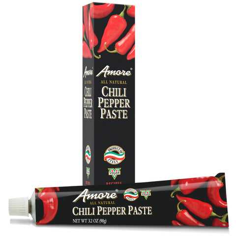 Amore Chili Pepper Paste, 3.2 OZ (Pack of 12)