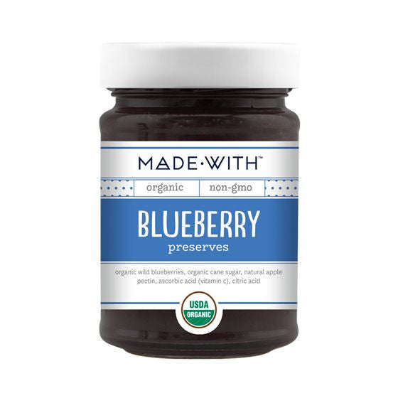 Made With Blueberry Preserves, 11 Oz (Pack of 12)