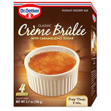Dr. Oetker Creme Brulee with Caramelizing Sugar, 3.7 Oz (Pack of 12)