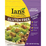 Ians Rosemary Garlic Croutons, 5 Oz (Pack of 8)