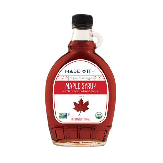 Made With Dark Maple Syrup, 12 Oz (Pack of 12)
