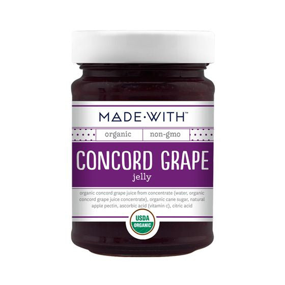 Made With Concord Grape Jelly, 11 Oz (Pack of 12)