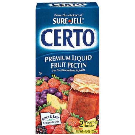 Certo Pectin Liquid, 6 OZ (Pack of 16)