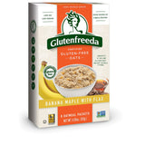 Glutenfreeda Banana Maple with Flax Instant Oatmeal, 10.1 Oz (Pack of 8)