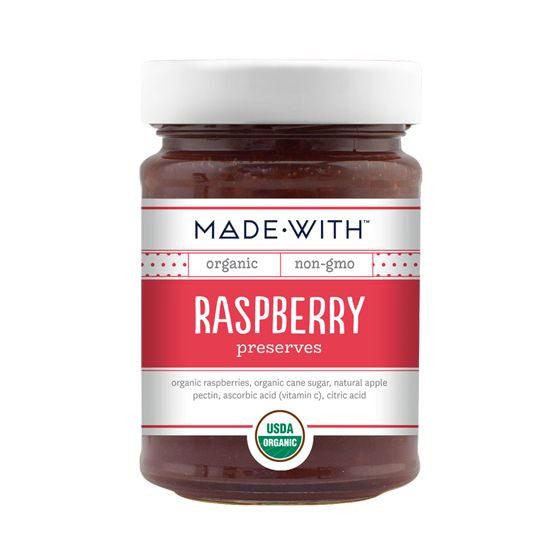 Made With Raspberry Preserves, 11 Oz (Pack of 12)