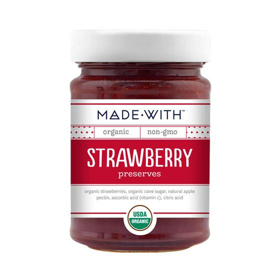 Made With Strawberry Preserves, 11 Oz (Pack of 12)