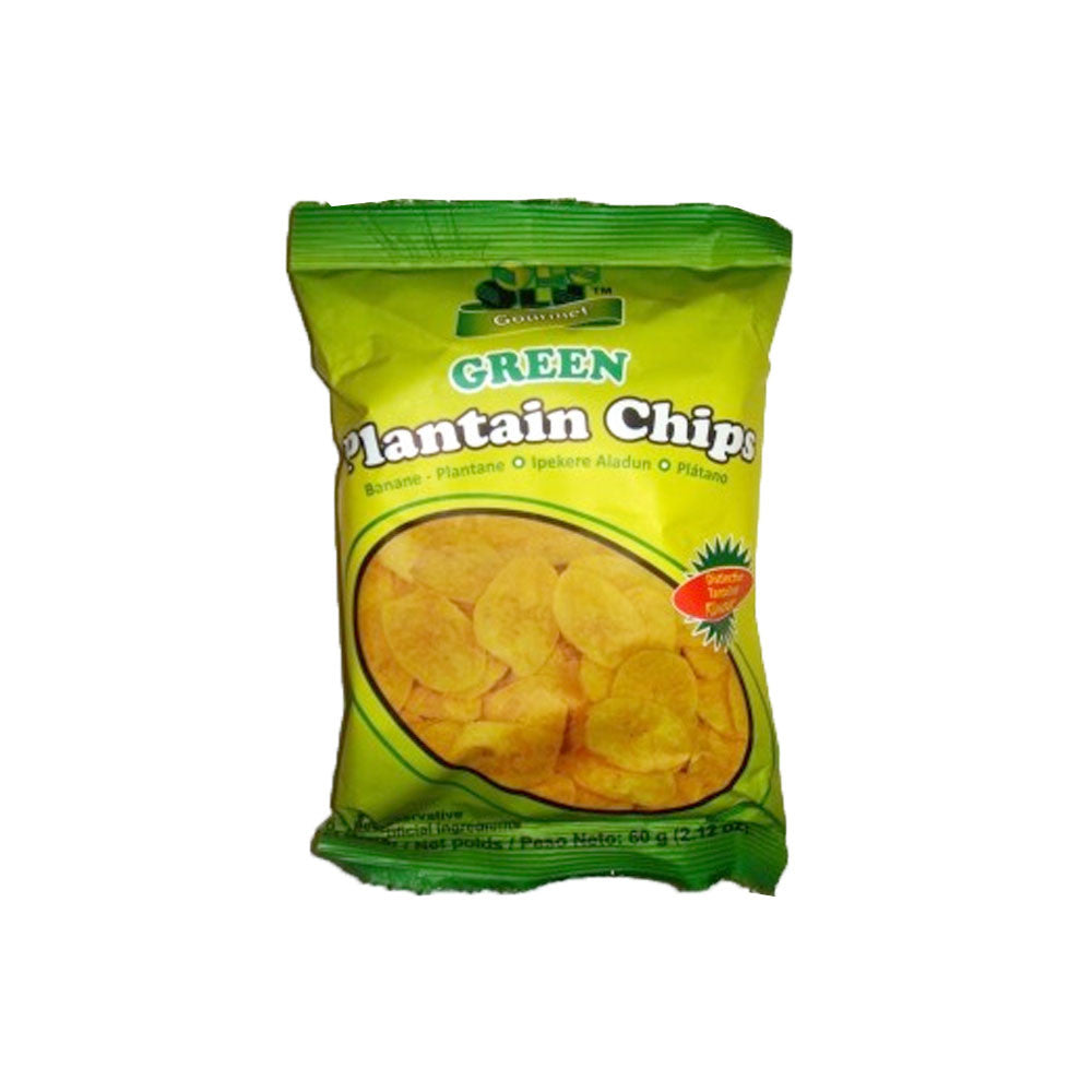 Olu Olu Green Pantain Chips