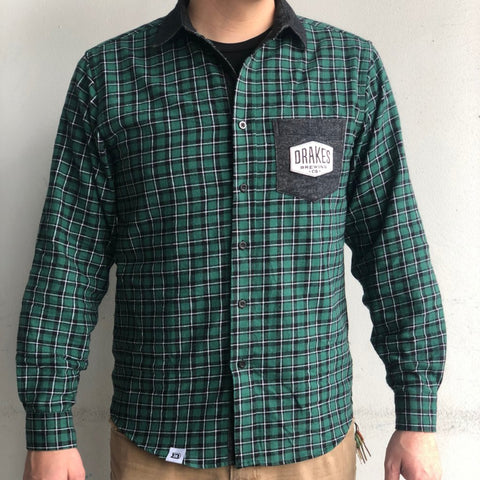 Green Plaid Flannel