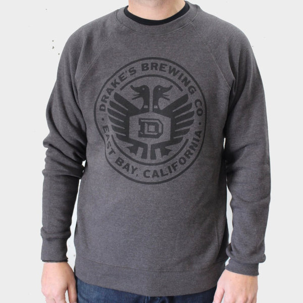 Crew Neck Sweatshirt Grey