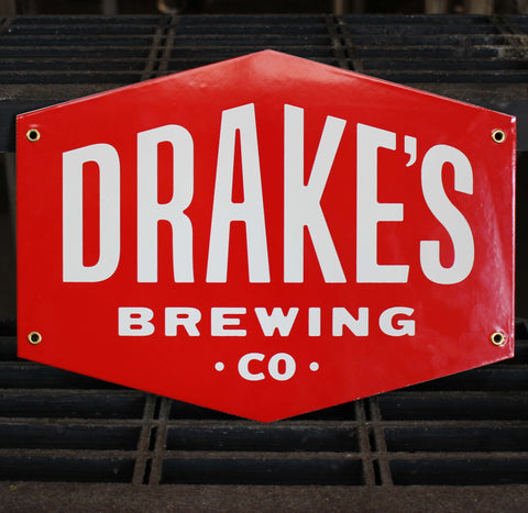 Drake's Enamel Steel Tacker--Shield