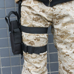 Adjustable Drop Leg Thigh Holster Pouch Holder