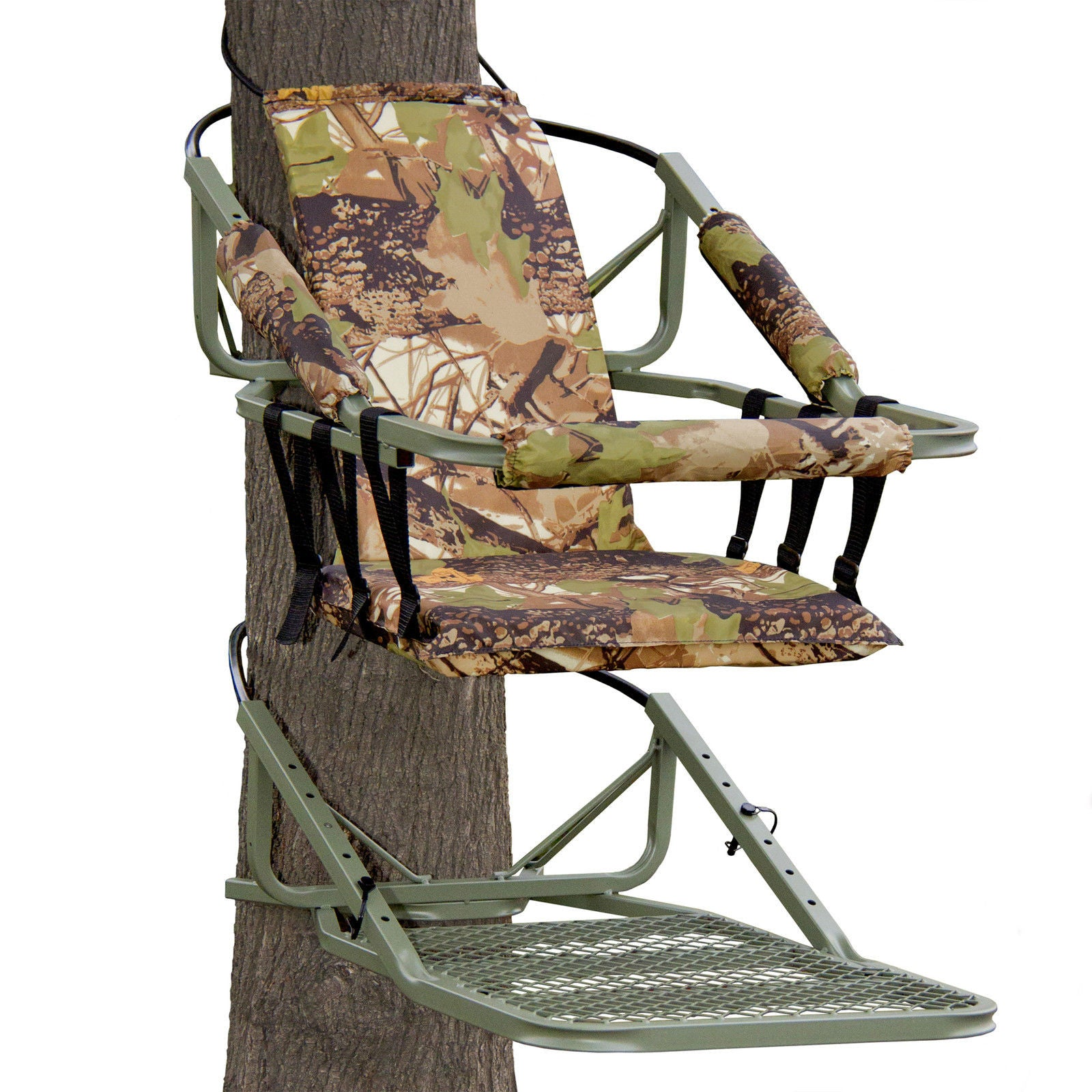 Deer hunting tree stand portable w harness free for Free tree stand