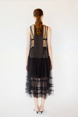 Agnes Tulle dress - Black color