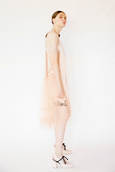 Agnes Tulle dress - Blush color