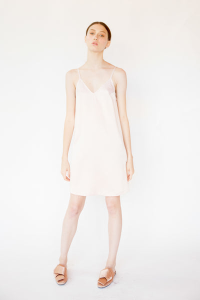 FIORE Slip Dress - Light pink