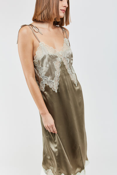 MARTIN SILK SLIP DRESS