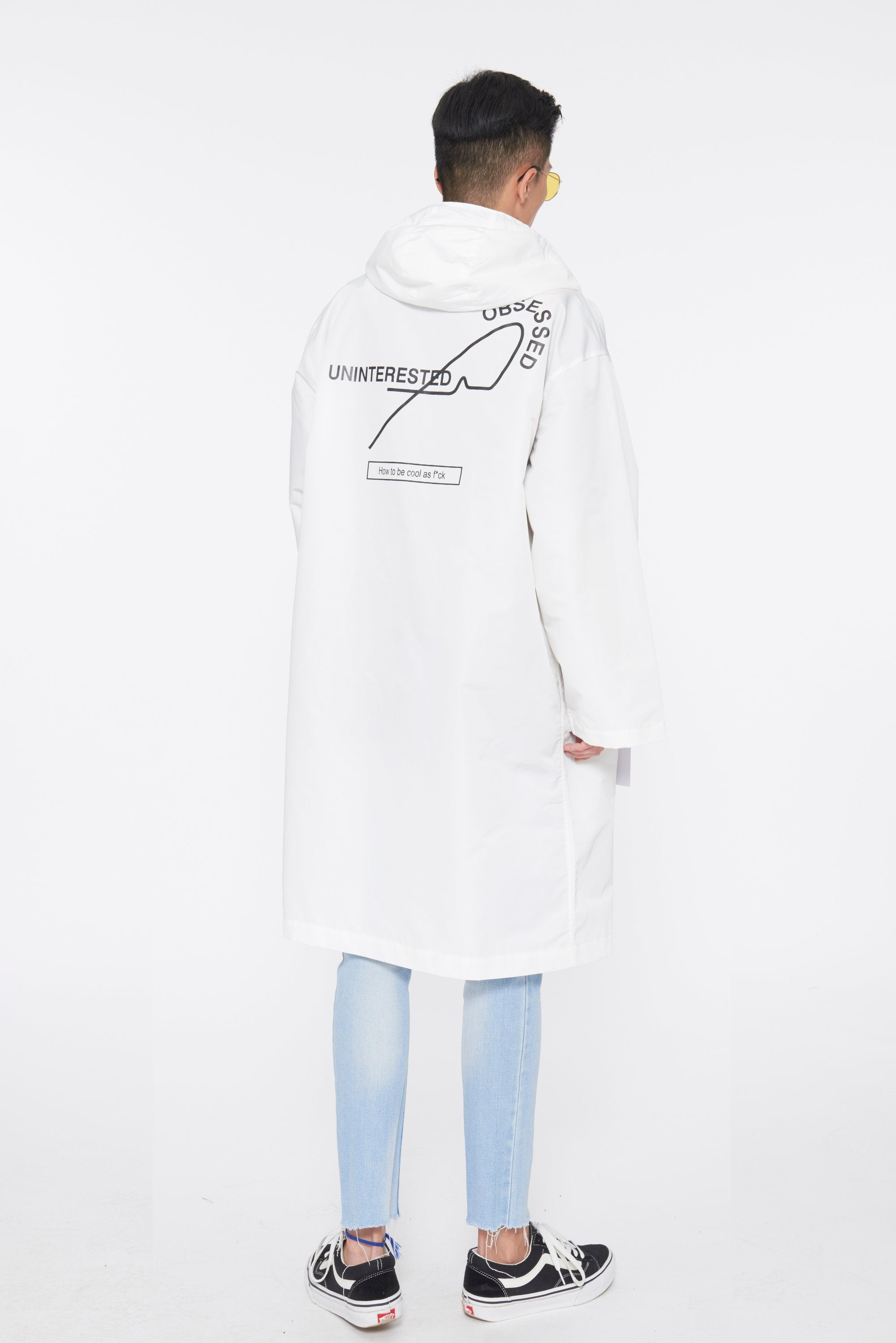 UNINTERESTED LONG COAT - WHITE