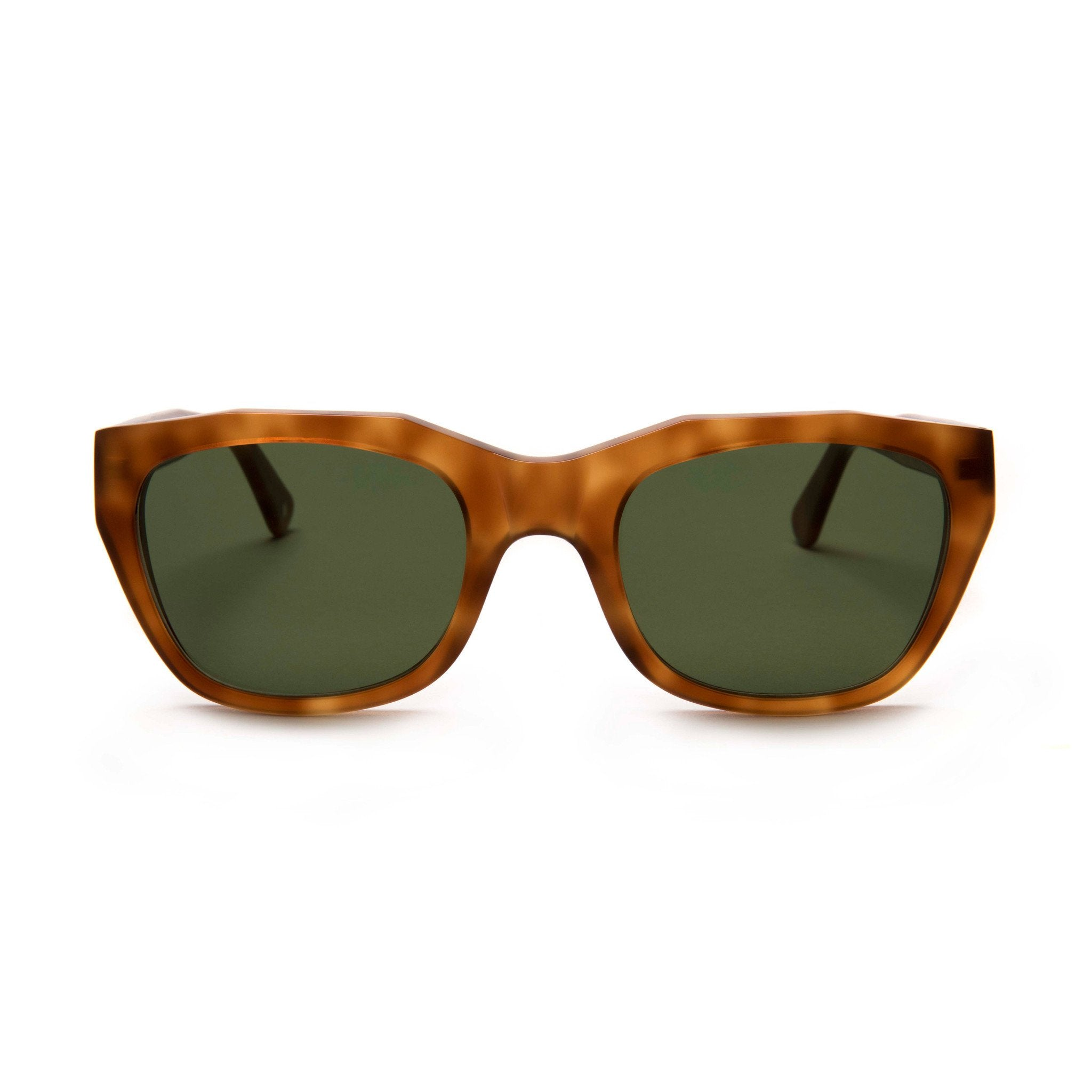 GRÀCIA | LIGHT TORTOISE | GREEN