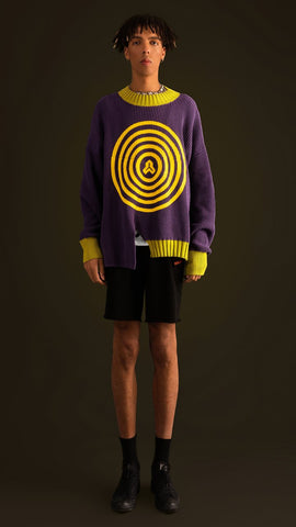 J - FORBIDDEN ARCHERY OVERSIZED KNITWEAR