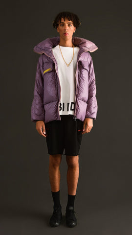 O - VIOLET GOOSE DOWN JACKET