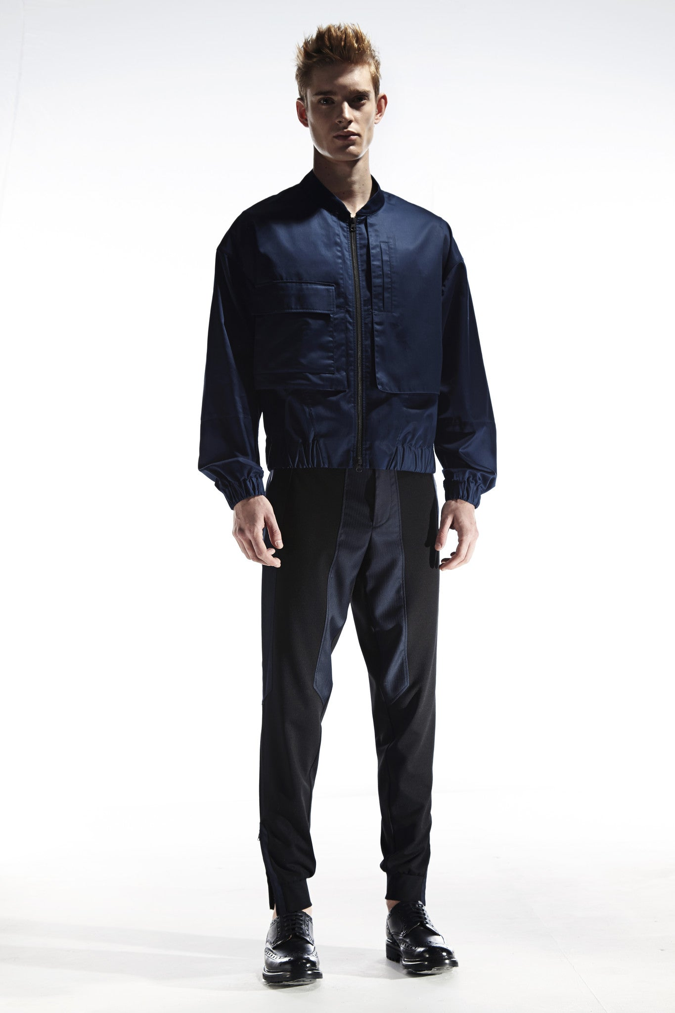 OUTTERS - BOMBER JAKET IN SHIRTING