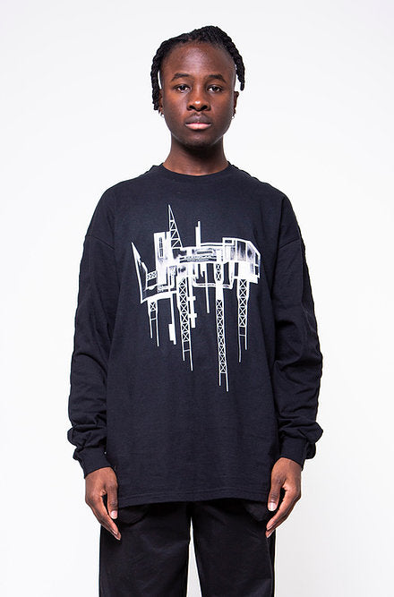 HIGH-RISE SECTION LONG-SLEEVE