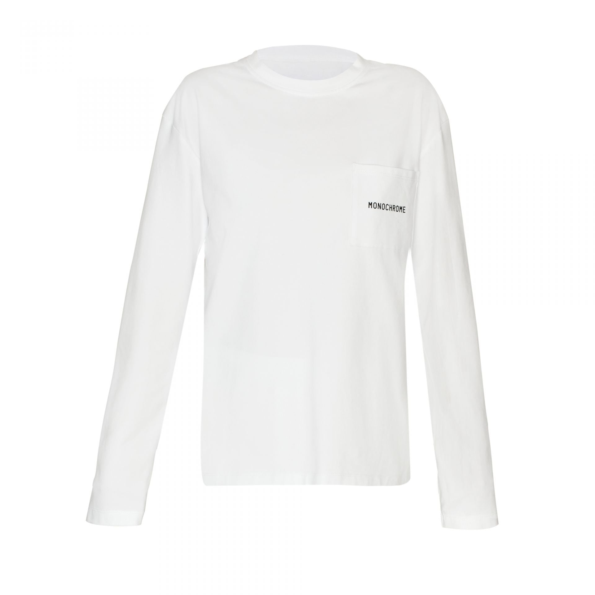 LONG SLEEVE TEE WHITE