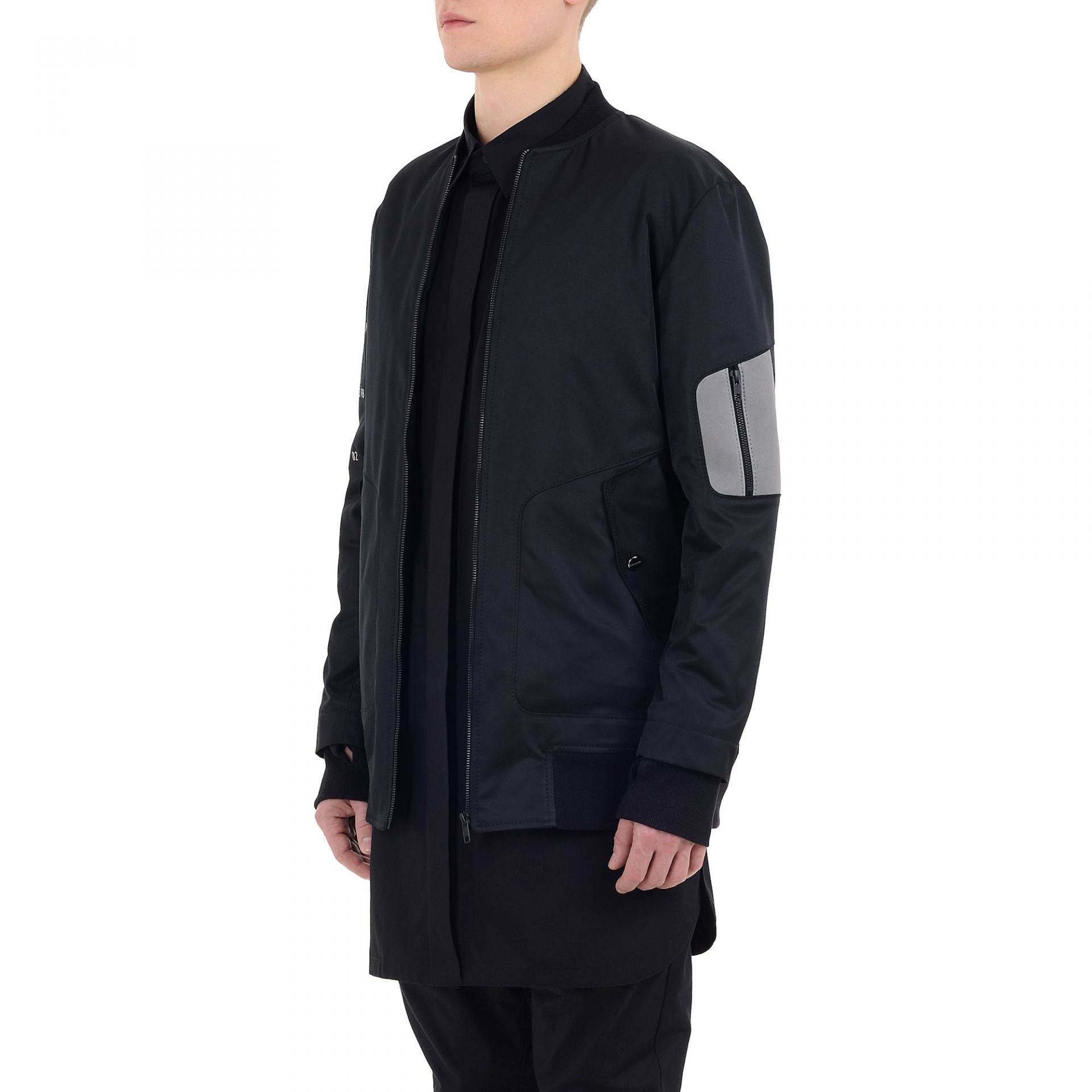 RUNNER BOMBER BLACK