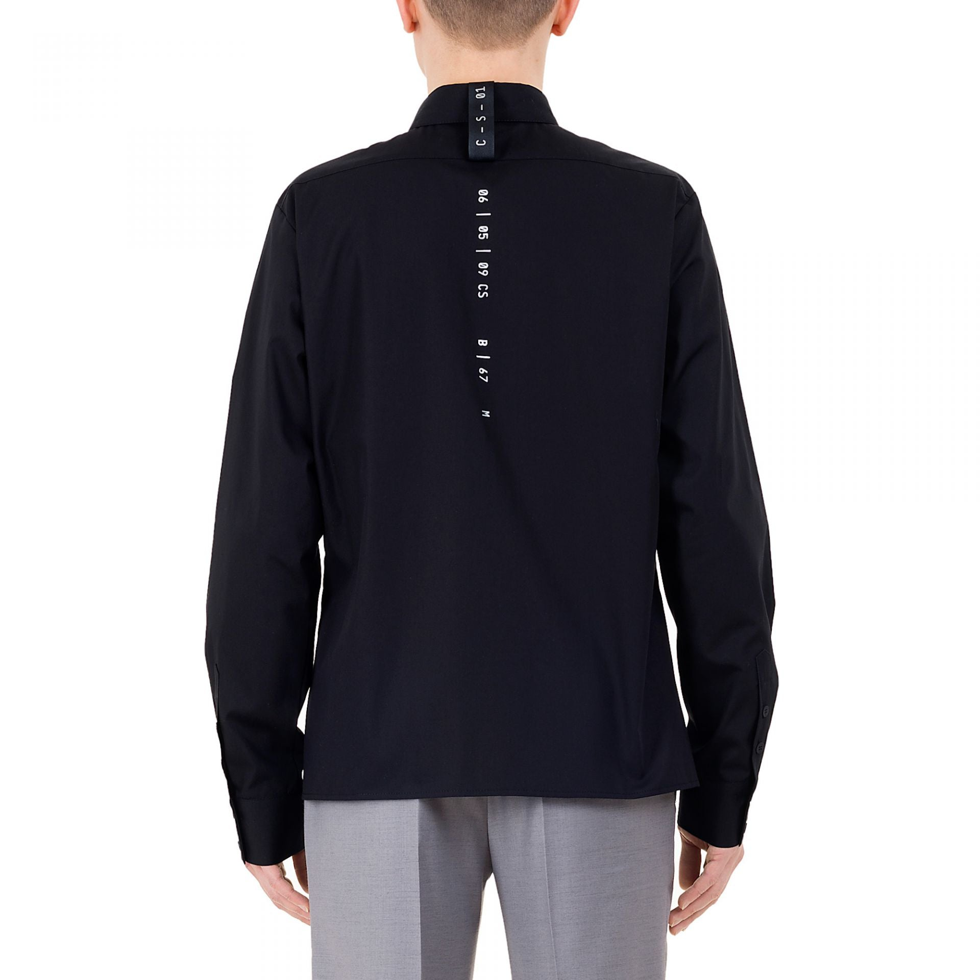 CLASSIC CODED SHIRT BLACK