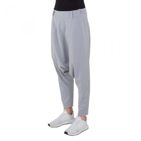 WIDE TROUSERS GREY