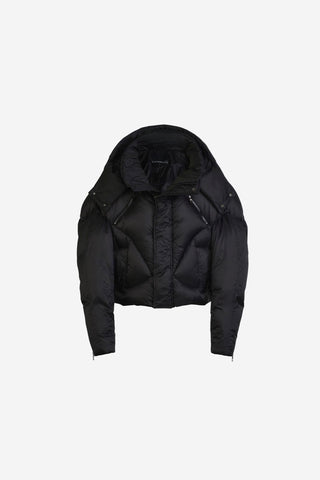 SIGNITURE BLACK PUFFER JACKET