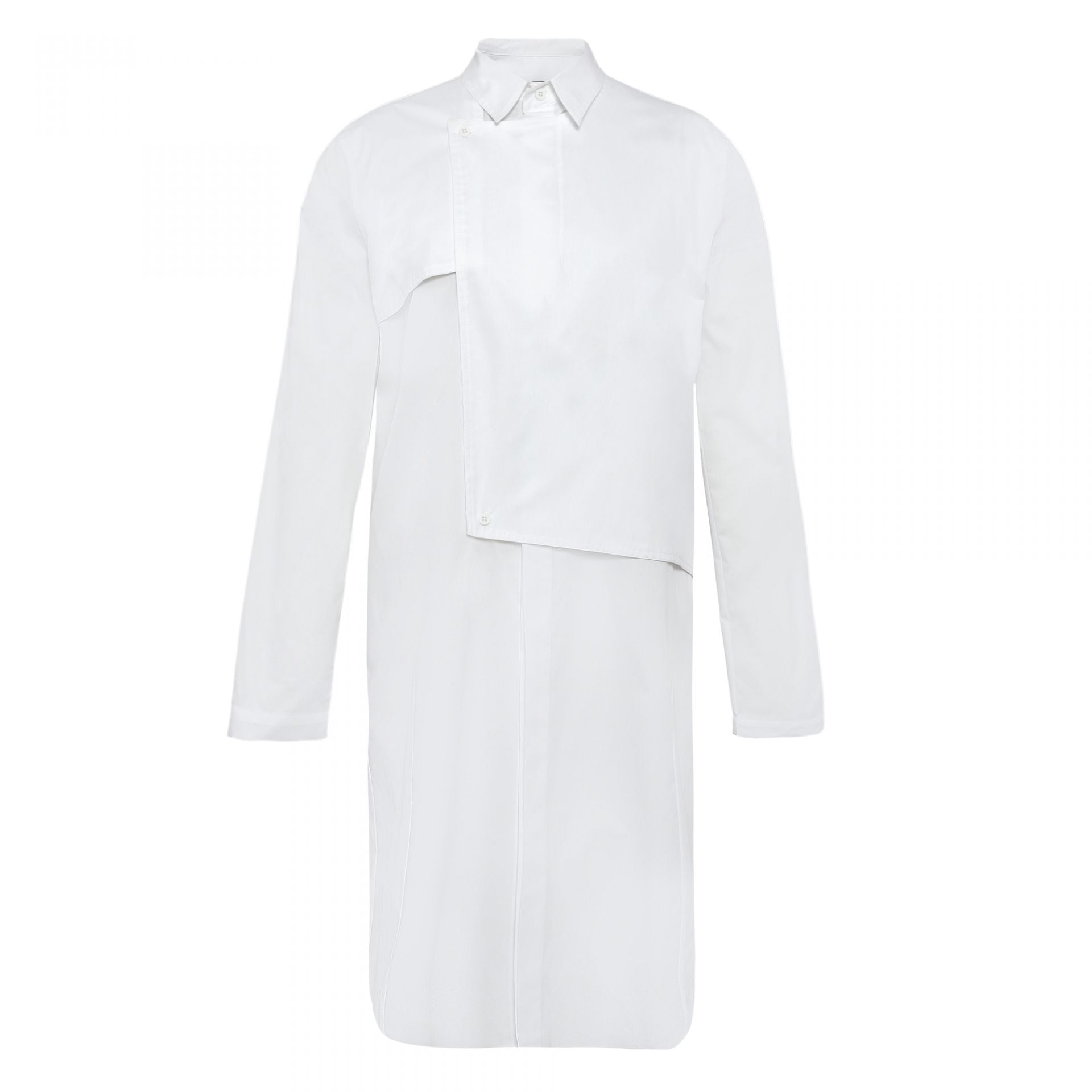 TRENCH SHIRT WHITE