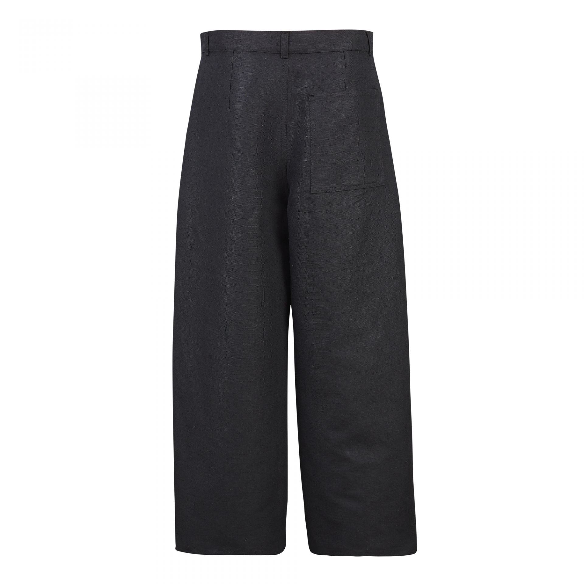 ROUND TROUSERS BLACK
