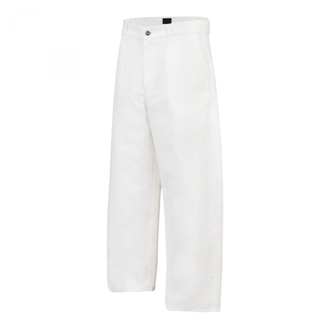 ROUND TROUSERS WHITE