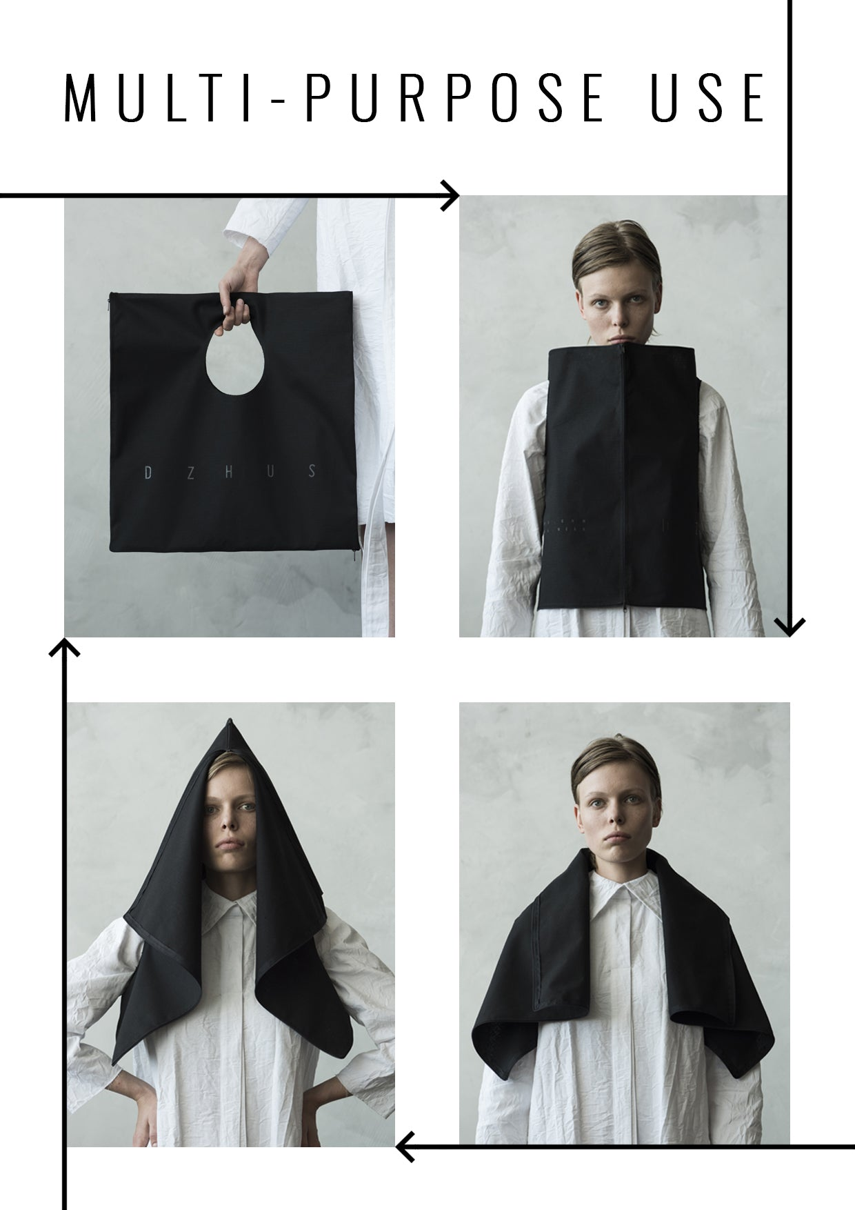 PUFFER 9-WAY TRANSFORMING PIECE: JUMPSUIT / COAT / JACKET