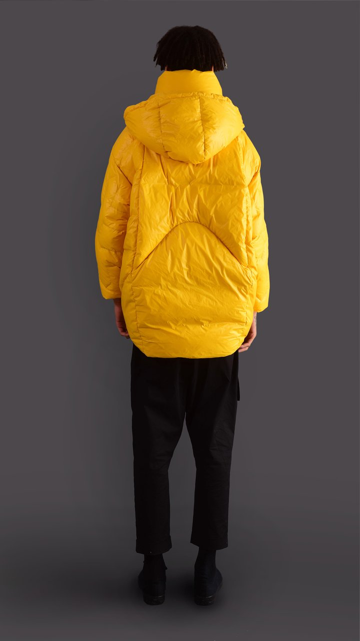 O - YELLOW DOWN WINTER JACKET