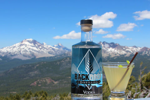 BackDrop Distilling and Mt. Bachelor's new Cloud Chaser cocktail in Bend, Oregon