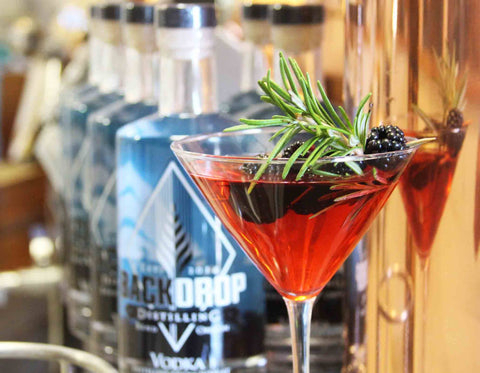 BackDrop Distilling - award winning Oregon vodka