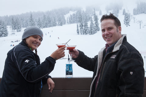 BackDrop Distilling Oregon vodka teams up with Mt. Bachelor for a specialty cocktail