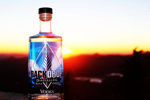 BackDrop Disitlling Vodka featured at Mt. Bachelor Sunset Dinners