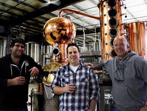 BackDrop Distilling's award-winning vodka is made in their Bend, Oregon distillery