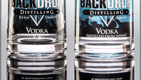 BackDrop Distilling vodka made in Bend, Oregon is available in Portland, Oregon